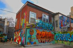 Behind Queen St. West by dunescape, via Flickr Toronto, Canada, Queen, Explore, City, Painting, Show Queen, Painting Art, Paintings