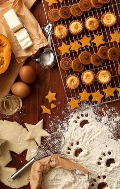 Autumn baking.