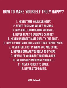 The Power Of Happiness Comes From Yourself, Not From Others
