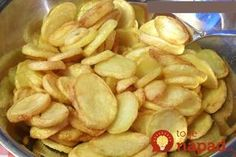 Very crunchy chips, recipe for oven or Airfryer, Light & Yummy Gourmet Recipes, Vegan Recipes, Snack Recipes, Cooking Recipes, Snacks, No Salt Recipes, I Love Food, Good Food, Yummy Food