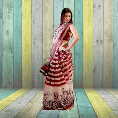Five Super Net Saree Combo Collection From Teleshop - Helps you make the impression that you want. Order Now @  @9312100300