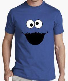 Camiseta MONSTRUO GALLETAS (barrio sésamo) , camisetas torotoro