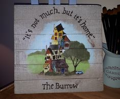 A house warming gift for some magical friends!