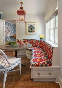 Booth Seating for Home Kitchen Awesome 25 Charming Kitchen Banquette Ideas Gorgeous Banquette Booth Seating, Banquette Seating, Seating Areas, Pierre Frey, Kitchen Nook, Kitchen Banquette Ideas, 60s Kitchen, Kitchen Seating, Condo Kitchen