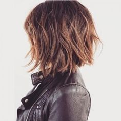 brown bob hairstyle