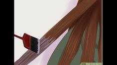 تغطية مثالية للشيب ولون شعر بني رائع مع ترطيب وتنعيم الشعر صبغة طبيعية بدون اكسجين Youtube Curl Hair With Straightener Diy Hair Dye Coffee Hair Dye