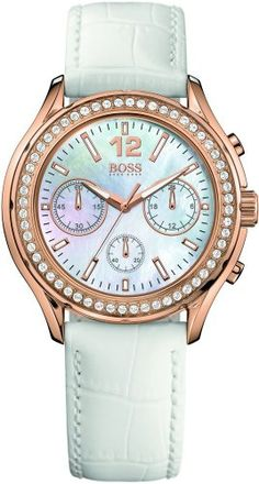 Hugo Boss Ladies Chronograph for Her With crystals >> $534.95 << | Your #1 Source for Watches and Accessories