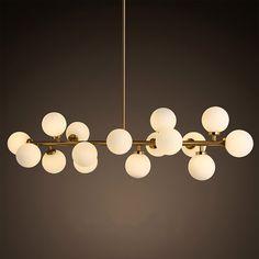 Modern Modo 16 Round Glass DNA Chandelier  Pendant Lamp Ceiling lamp Fixture New | Home & Garden, Lamps, Lighting & Ceiling Fans, Chandeliers & Ceiling Fixtures | eBay!