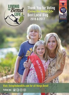 Absolutely THRILLED to win Best Local Blog in The Source Weekly's annual Best of Central Oregon Reader's poll (on stands now). What started as a hobby to encourage our family to embrace the lifestyle when we moved to Bend quickly turned into a passion for helping others new to the area or planning a move here. Click on the blog post below to learn more about the inspiration behind Living the Bend Life and how I may be able to help you too!