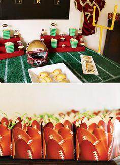 Creative Football Birthday Party Ideas