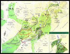 Greenbelt Trail Map, Staten Island, NY