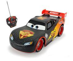 Dickie Toys 203084000 - RC Carbon Turbo Racer Lightning McQueen, funkferngesteuerter Rennwagen, 17 cm
