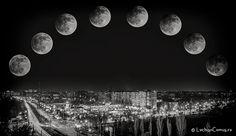 Lunar eclipse (a different perspective)