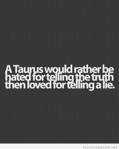 Taurus and lies