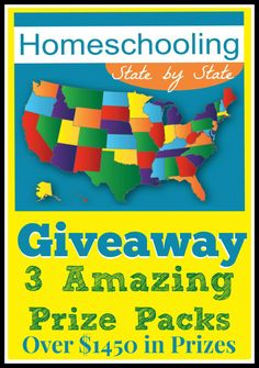 Homeschooling State by State Giveaway | Great Peace Academy