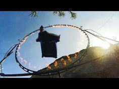 Опасный вингсьют: Парень пролетел сквозь огненное кольцо (+Видео). — Vinegret