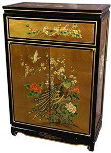 Zitan and huanghuali cabinet. Qing period | Antiques ...