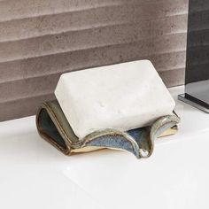 What a genius product! Ceramic Self-Draining Soap Dish Uncommon Goods #ad #affiliate