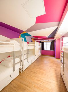 Shared Room At Generator Hostel London Hostel London Holiday Traveling Design
