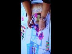 Pintura em tecido com stencil -Hortênsias-Mayumi Takushi - YouTube