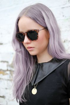 Light and feminine purple hair to try this spring #hairinspiration