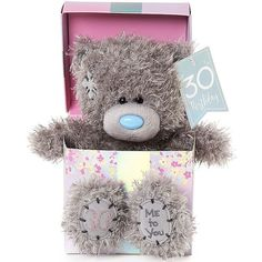 Me to You 30th Birthday Teddy Bear - #30thbirthday #teddybear #tattyteddy #metoyou