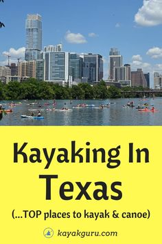 11 Best Places To Kayak & Canoe In Texas 1: Colorado River 2: Brazos River 3: Lady Bird Lake 4: Guadalupe River 5: Caddo Lake 6: Padre Island National Seashore 7: Frio River 8: Rio Grande 9: Neches River 10: Sabine River 11: Galveston Island Also, kayak laws, rentals and tours
