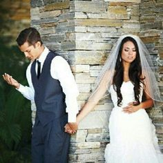 Praying before and during marriage helps keeps Christ the center and humbles the couple. Love it!