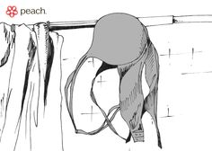 how to dry bras and delicates. with love, peach