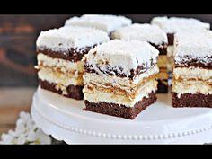 Ciasto Kokosowa KRÓWKA – Zapraszam na nowe, pyszne ciasto w Małej Cukierence. Kremowe, kokosowe, troszkę waniliowe, przełożone masą krówkową. Bardzo smaczne, wilgotne i aromatyczne. Wygląda apetycznie i uważam, że nie jest trudne w przygotowaniu... Sweet Life, No Bake Cake, Sweet Recipes, Tiramisu, Baking Recipes, Malaga, Cheesecake, Cookies, Ethnic Recipes