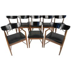 American of Martinsville Dining Chairs   From a unique collection of antique and modern dining room chairs at https://www.1stdibs.com/furniture/seating/dining-room-chairs/