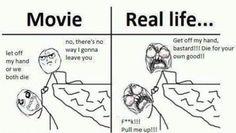Movie vs. Real Life lol