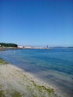bebetecavigo. Playa de Alcabre. Vigo. bebetecavigo
