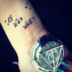 Harry potter tattoo <3