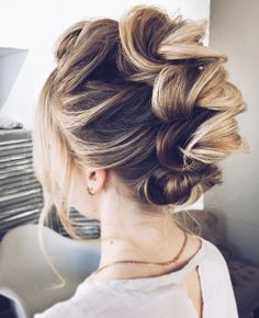 10 Best Wedding Hairstyles For Long Hair Simple Wedding Hairstyles, Elegant Hairstyles, Up Hairstyles, Faux Hawk Hairstyles, Medium Hair Styles, Short Hair Styles, Romantic Wedding Hair, Wedding Updo, Romantic Updo