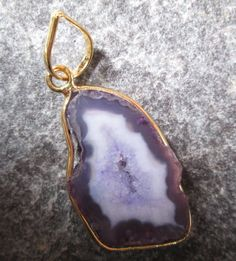 24 kt. Gold Plated Huge Druzy Uniqe Rare Byo  by JaiVyavsayBeads, $5.99