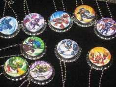 skylanders bottlecap ball chain