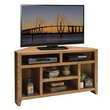 Corner TV Stands - Orientation: Corner Unit | Wayfair