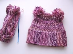 Hey, I found this really awesome Etsy listing at https://www.etsy.com/il-en/listing/254782065/hand-crochet-warm-hat-with-pompons-hat