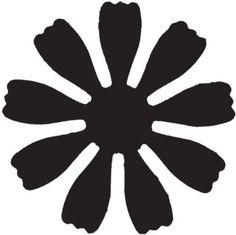 Paper Flower Patterns, Paper Flowers, Diy Paper, Paper Crafts, Aluminum Foil Art, Cricket Crafts, Flower Clipart, Flower Template, Online Craft Store