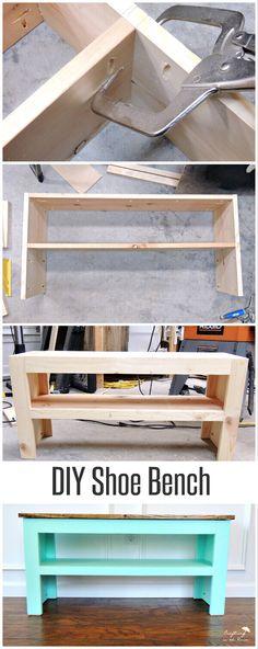 Welche Sitzbank würdest du gerne in deinem Vorzimmer sehen? - DIY Schuh Bank