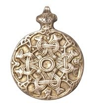 Detail of Viking necklace from Saffron Walden