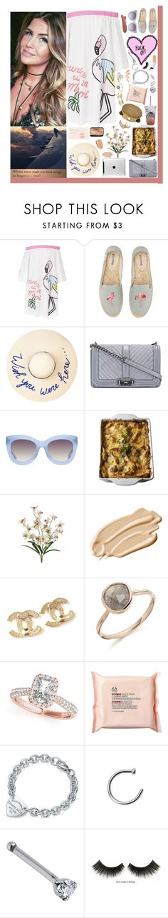 """She's like a Sunday morning full of grace and full of Jesus.❤️"" by loretta-mccoy ❤ liked on Polyvore featuring Mira Mikati, Soludos, Eugenia Kim, Rebecca Minkoff, Alice + Olivia, Cajun Turkey Company, ViDi, Stila, Chanel and Allurez"