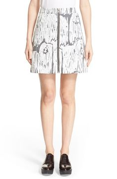 Opening Ceremony 'Komondor' Jacquard Zip Miniskirt available at #Nordstrom