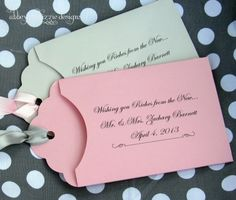 Lottery Ticket Favor by abbey and izzie designs on Etsy