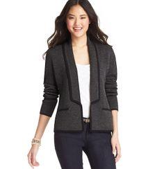 sweater blazer at LOFT
