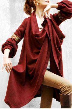 Persian fashion / Sheen design overcoat مانتو سنتی زمستانه