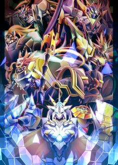 Dynasmon X, UlforceVeedramon X, Leopardmon X, Magnamon X, Gallantmon X, Alphamon, Omnimon X (Omegamon X)