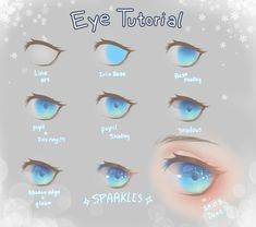 63 New Ideas Drawing Tutorial Anime Eyes - 63 New Ideas Drawing Tutorial Anime Eyes - Eye Drawing Tutorials, Digital Painting Tutorials, Digital Art Tutorial, Drawing Tips, Art Tutorials, Concept Art Tutorial, Coloring Tutorial, Poses References, Art Reference Poses