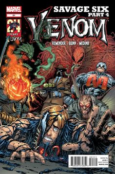 Venom #21 - Savage Six, Part 4: Best Laid Plans...